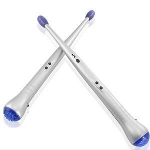 Парные электрические ритм-Ритм барабанные палочки воздушные барабанные палочки для детей игрушечный музыкальный инструмент