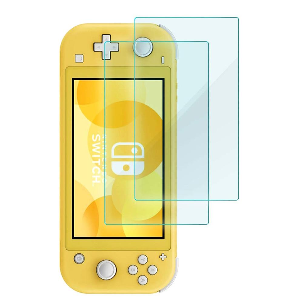 Закаленное защитное стекло 9H для Nintendo Switch Lite, 2 шт.