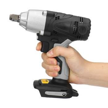 18 v 480nm 3600rpm chave de impacto elétrica sem fio chave de fenda velocidade rechargable drill driver + led luz para bateria makita