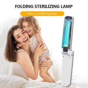 Image 1 - Rechargeable Ultraviolet UV Sterilizer Light Tube Bulb Disinfection Light Bactericidal Germicidal Lamp Sterilizer Mites Lights