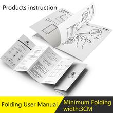 Drukowanie folderów składana instrukcja obsługi niestandardowa składana instrukcja obsługi broszura katalog usługa drukowania booketów tanie tanio Magazyn