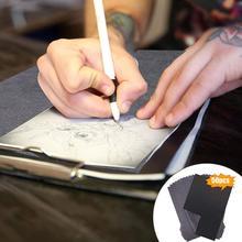 Painting-Painting-Paper Tracing-Accessories Carbon A4 Graphite Black Copy 50pcs/Set Legible