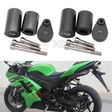 אין לחתוך התרסקות מחווני מסגרת אופנוע נופל הגנה עבור Kawasaki Ninja ZX 6R ZX6R ZX 6R 636 2007 2008