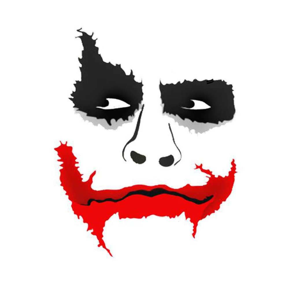 Joker Art Batman Patch Iron Heat Transfer Sticker On Transfer To Clothes T-Shirts A-Level Washable Thermal Patches