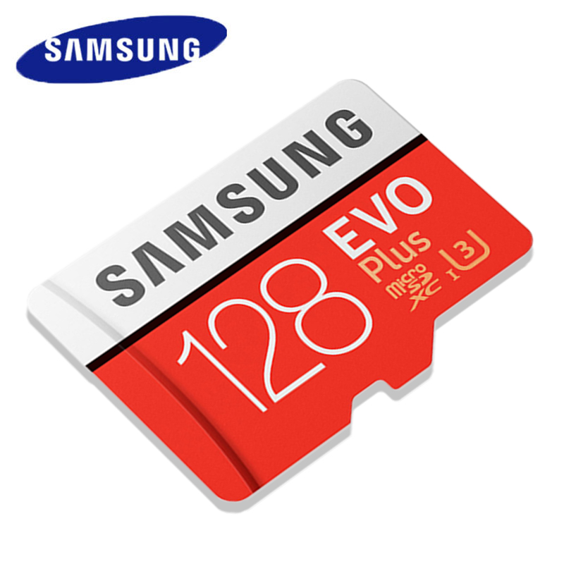 SAMSUNG 128GB MicroSD Card 32GB 64GB Memory Card 256GB TF Flash Card UHS-I U1/U3 C10 SDXC 4K HD For Mobile Phone/Recorder/Tablet