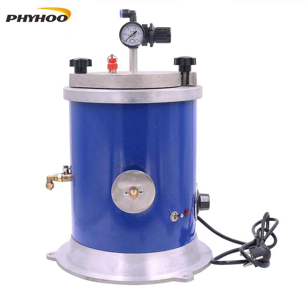 Wax Injector 5.5LB Tank Wax Injection Machine For Jewelry 500W Wax Casting Machine With Double Nozzle For Wax Injection