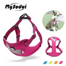 MySudui Truelove No Pull Dog Harness For Dogs Easy on off  Pitbull Pet Dog Harness Vest For Small Medium Large Dog Arnes Perro