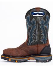 Dominador botas ao ar livre à prova dwaterproof água e à prova de óleo locomotiva botas goodyear sapatos de trabalho masculino sapatos indestrutíveis zq0253