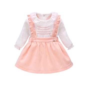 Vlinder Baby Girl Clothes Skirt Set Fashion T shirt Skirts 2PCS For Newborn 9M-3T Infant