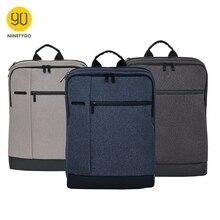 Ninetygo 90fun clássico negócios mochila grande capacidade para 15 polegada portátil saco daypack escola viagem das mulheres dos homens menino menina