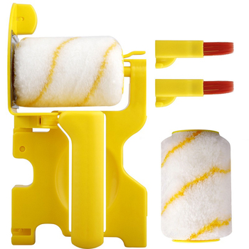 Clean-Cut Paint Edger szczotka rolkowa ściana sufitowa drzwi wałek malarski szczotka rolkowa pędzel malarski obrzeża narzędzia do drzwi sufitowych ściennych tanie i dobre opinie NONE CN (pochodzenie) Roller