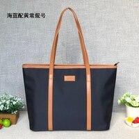 Waterproof Oxford cloth bag canvas bag travel bag female mobile handbag nylon OL bag tote bag simple commuter big bag
