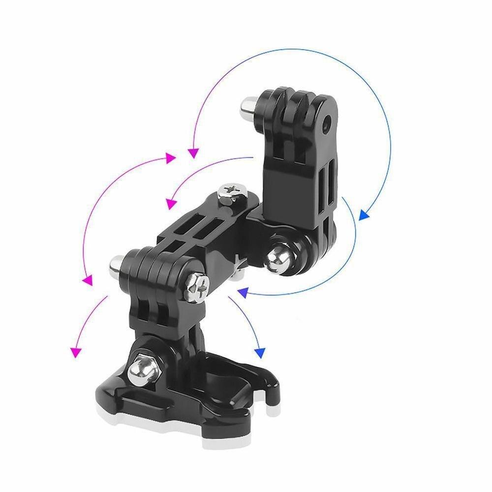 Комплект аксессуаров для переднего шлема j образная Пряжка опорное крепление для GoPro Hero 5 6 7 4 Xiaomi Yi 4K SJCAM Go Pro Новинка|Чехлы для экшн-камер|   | АлиЭкспресс
