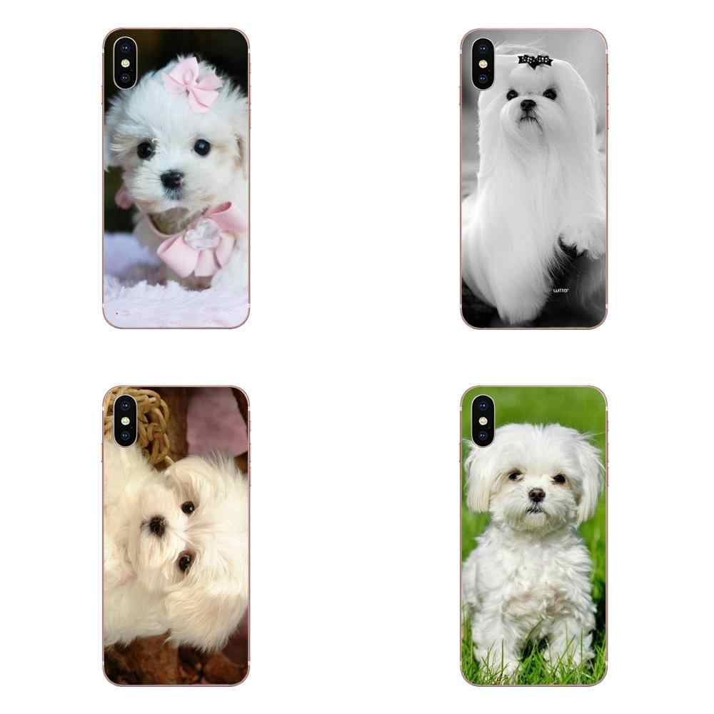 Hot Fashion Design Cell Phone Case I Love My Maltese Dog White Cute Dogs For Xiaomi Redmi Note 2 3 3S 4 4A 4X 5 5A 6 6A Pro Plus