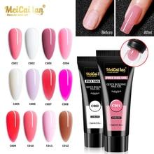 MEICAILAN Gel Polish Nail Art UV Builder Gel For Nail Extension Varnish Hybrid Poly UV Gel Polish Extension Manicure Acryl Gel