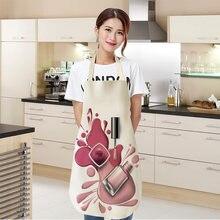 1 шт льняные Цветочные лаки для ногтей тема печати Кухонные