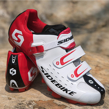 SIDEBIKE cycling shoes sapatilha ciclismo mtb bicycle racing mountain bike sneakers professional self-locking breathable Shoes sidebike men mountain bike shoes cycling road bicycle mtb shoes breathable wear resistant self locking cycling sneakers white