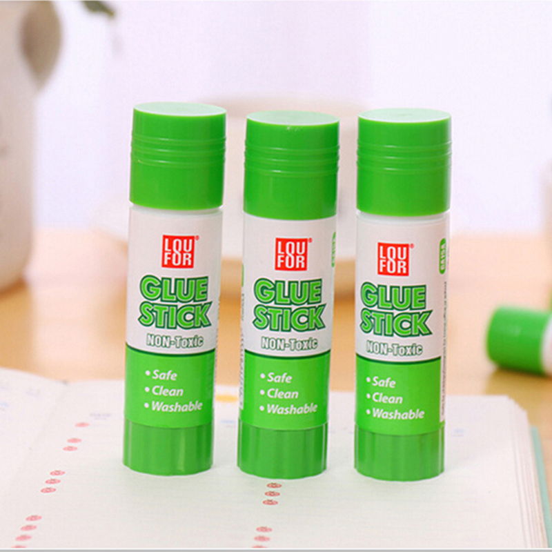 1pc Solid Adhesive Glue Plastic Glue Stick Adhesive High Viscosity Solid Glue For Home Art Paper Card Photo School Supplies