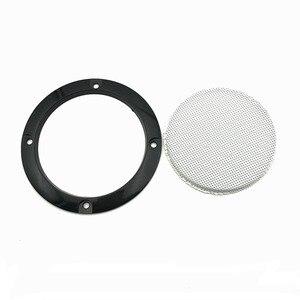 Image 4 - オーディオスピーカー保護カバー 3/4/5/6。5 インチの保護メッシュネットグリル diy 車のスピーカーカバー