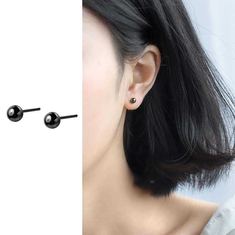 Women 925 Sterling Silver Vintage Feather Garnet Leaf Hoop Earring Allergy Free