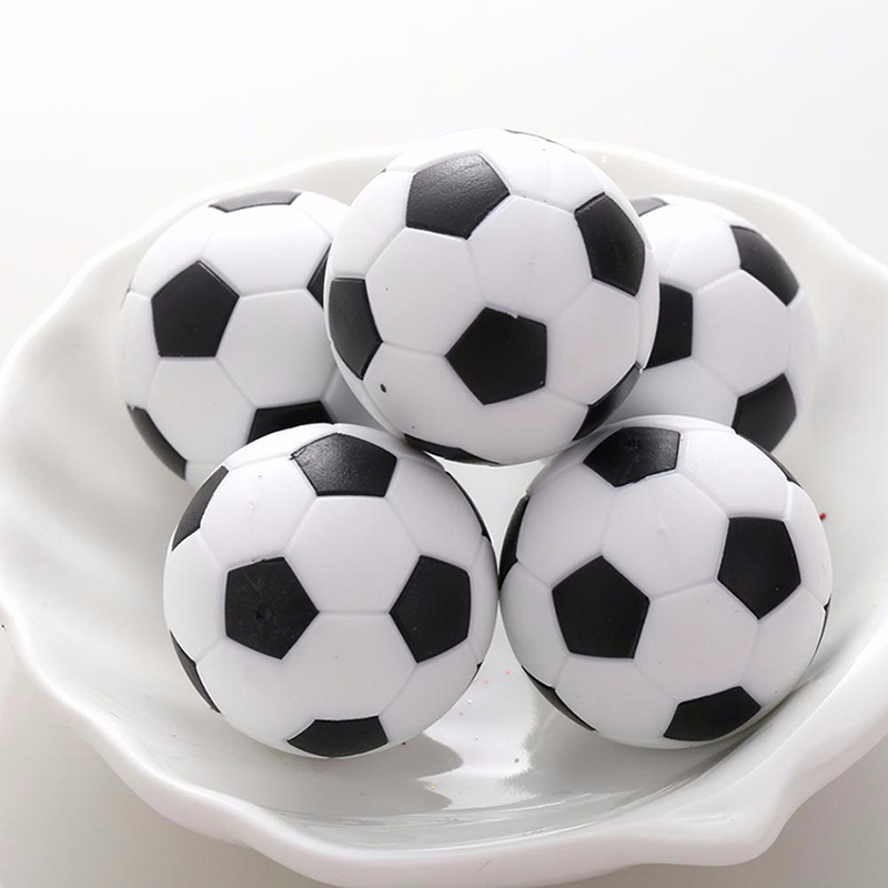 32mm Football Fussball Soccerball Sport Gifts Round Games Plastic Soccer Football Ball Foosball Indoor Table X2E5