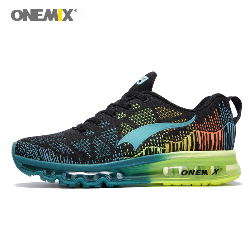 Onemix New Outdoor Sport Air Cushioning Running Shoes Men Breathable Sport Shoes Women Training Shoes Sneakers Men Free Run