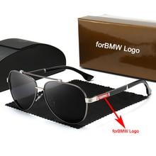 Car Sunglasses Men's Polarized Trend Personality Eyeglasses UV400 for BMW All Models Fashionable UV Protection Sun Glasses