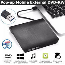 USB 3.0 Slim Externe DVD RW CD Writer Brander Reader Speler Optische Drives Voor Laptop PC(China)