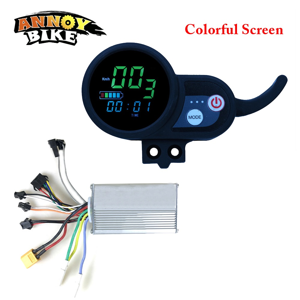 Ebike-Controller-36V48V52V60V-Electric-Bike-Display-LCD-Display-For-Electric-Bicycle-Colorful-Screen-And-Blue-Screen (1)
