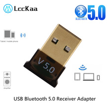 USB Bluetooth Adapters BT 5.0 USB Wireless Computer Adapter Audio Receiver Transmitter Dongles Laptop Earphone Mini Sender