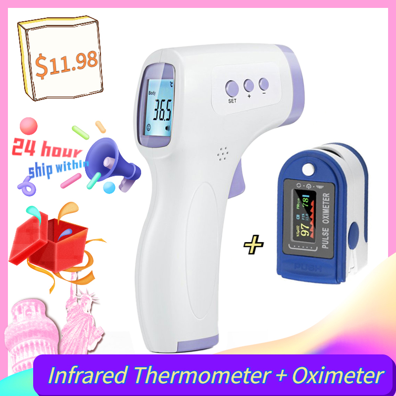 Digital Forehead-Body Infrared Fever Baby Profession