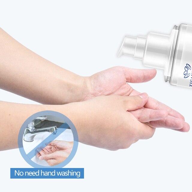 100ml 75% alcohol hand sanitzer gel 6