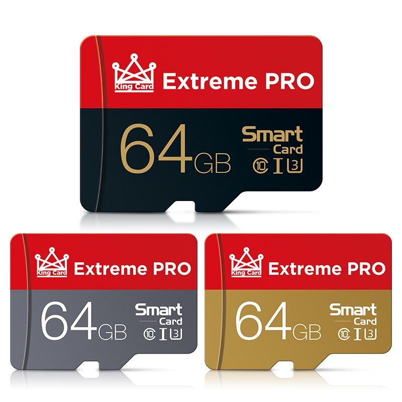 Ультра карта памяти 64 Гб Micro SD карта 64 Гб Micro sd карта памяти 64 Гб C10 мини TF карта Бесплатный SD адаптер