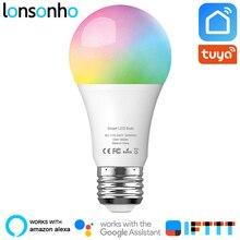 Lonsonho Wifi Smart Bulb Led Light Lamp 10W 900lm RGB 2700K 6500K E27 Wireless Remote Control Works With Alexa Google Home IFTTT стоимость