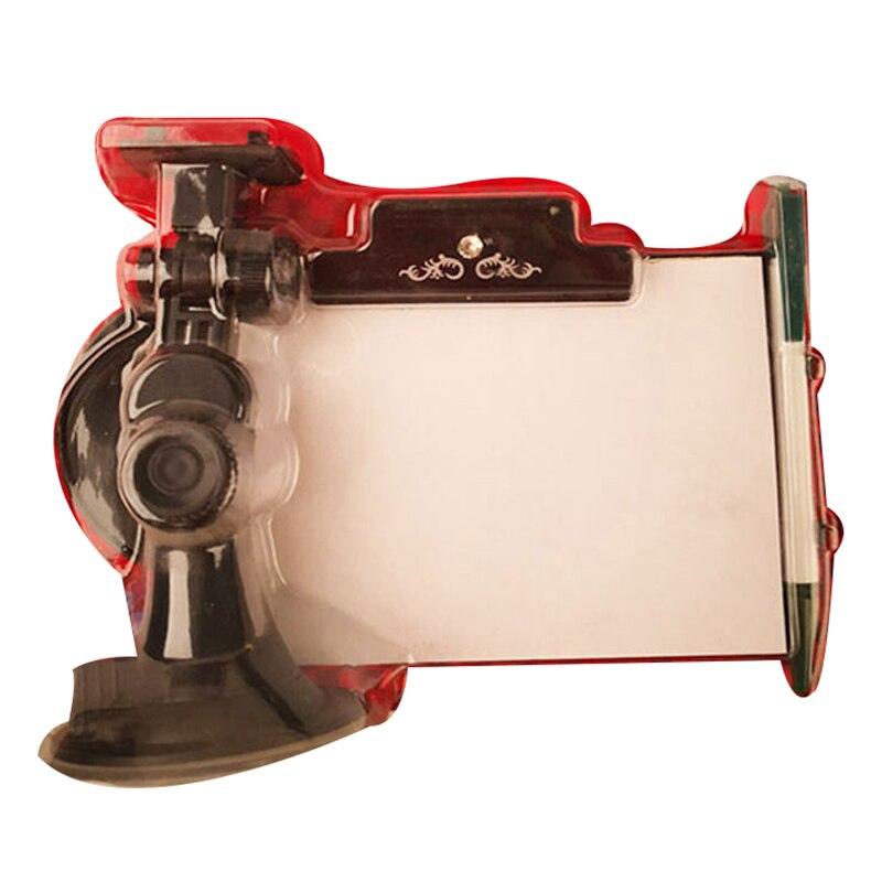 Блокнот для заметок на приборной панели автомобиля, с держателем для ручки и присоской для лобового стекла автомобиля или приборной панели