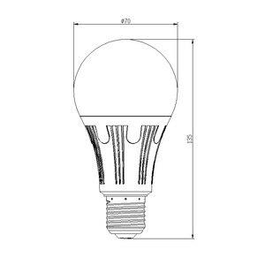 Image 3 - WiFi החכם Led אור הנורה E26/E27 מנורת A19 7W חם 3000K קר לבן 6000K RGB שלט רחוק Tuya Alexa גוגל עוזר הבית