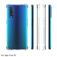 Transparent Case For OPPO Find X2 Pro