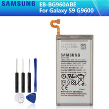 SAMSUNG Original Replacement Battery EB-BG960ABE For Samsung GALAXY S9 G9600 SM-G960F SM-G960 G960F G960 3000mAh Phone Battery куртка onttno g960 2014