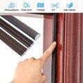 DIY 6M Self Adhesive Tür Fenster Abdichtung Streifen Schalldichte Schaum Dichtung Wetter Strippen Burlete Puerta Lücke Füllstoff Fenster Hardware