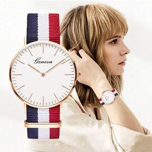 Image 1 - Casual Womens Watches Simple Thin Fashion Women Watch Luxury Quartz Wristwatch Ladies Clock Gift Relogio Feminino Reloj Mujer