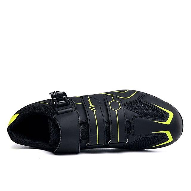 Profissional ao ar livre sapatos de ciclismo mtb respirável não-bloqueio de corrida sapatos de bicicleta de estrada dos homens tênis antiderrapante ciclismo sapatos de bicicleta 2
