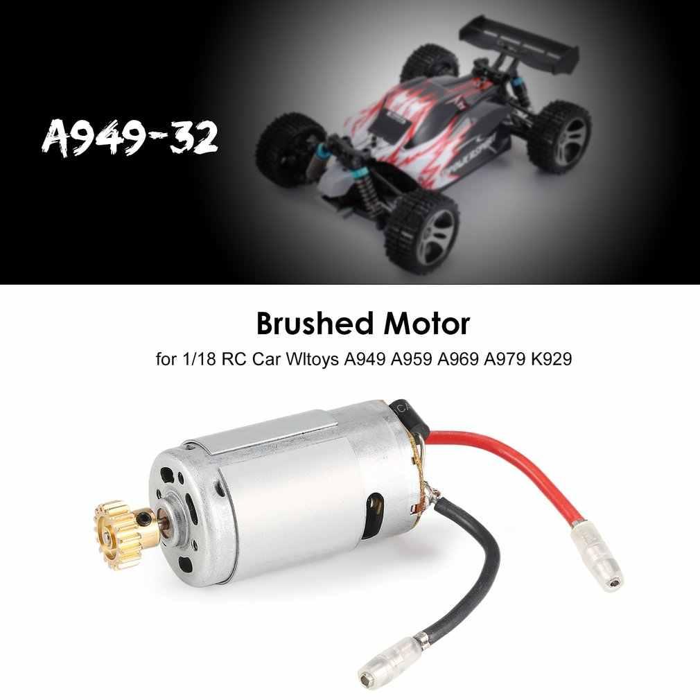 1/18 RC Auto Gebürstet Motor A949-32 für Wltoys Off-road Buggy A949 A959 A969 A979 K929 Ersatzteile Zubehör komponenten