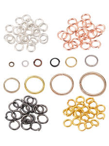 Jump-Rings Connectors Making-Accessories Jewelry Finding Wholesale-Supplies Diy 200pcs/Lot