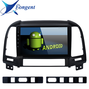 Fongent Android 8.1 2din Car Radio Multimedia Player Gps Head Unit For Hyundai Santa Fe 2005 2006 2007 2008 2009 2010 2011 2012 image