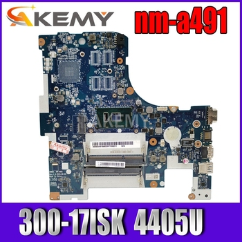 Free Shipping for Lenovo ideapad 300-17ISK BMWD1 NM-A491 Laptop motherboard SR2EX 4405U CPU Laptop motherboard 300-17ISK image