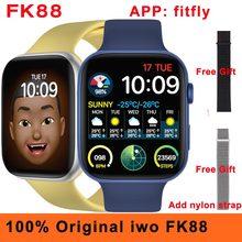 Смарт-часы мужские с GPS iwo FK88, 1,78 дюйма, 44 мм, Bluetooth, Пульсометром