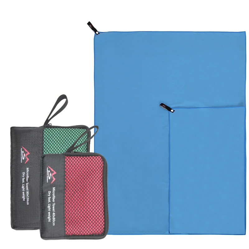 Supply Quick Drying Towel Swimming Towel Compact Microfiber Antibacterial Camping Hiking Hand Face Towel Travel Sport Kits Outdoor Factory Direct Selling Price