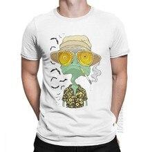 T-shirt de base pour homme, vêtement masculin, avec la peur et la perte à Las Vegas, le pays des chauves-souris, Johnny, été