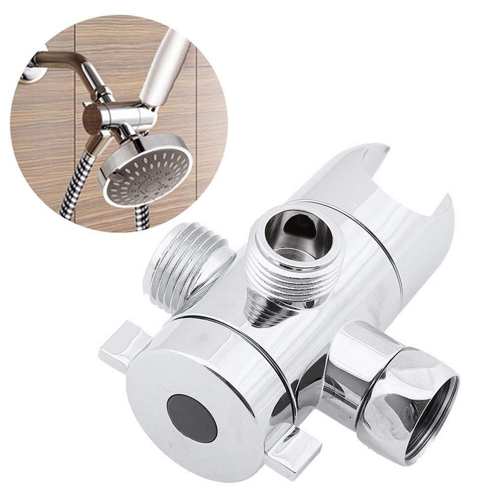 """G1//2/"""" Three Head Function Switch Adapter Control Valve 3 Way Tee Connector"""