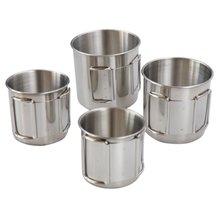 4 шт уличные чашки кружки горшки посуда чашка для кемпинга пикника